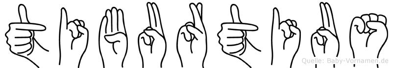 Tiburtius in Fingersprache für Gehörlose