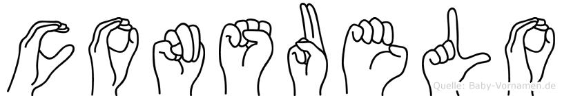 Consuelo in Fingersprache für Gehörlose