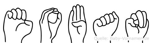 Eoban in Fingersprache für Gehörlose