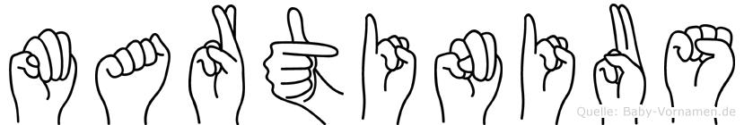Martinius in Fingersprache für Gehörlose