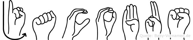 Jacobus in Fingersprache für Gehörlose