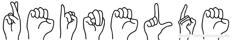Reinelde in Fingersprache für Gehörlose