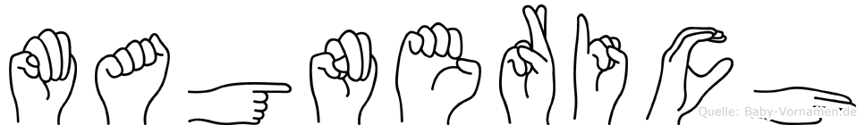 Magnerich in Fingersprache für Gehörlose