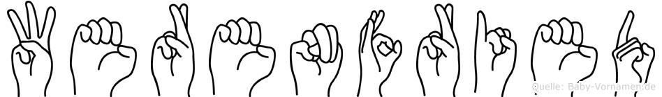 Werenfried in Fingersprache für Gehörlose