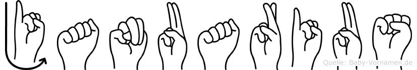 Januarius in Fingersprache für Gehörlose