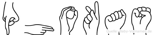 Phokas in Fingersprache für Gehörlose