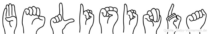 Belisinda in Fingersprache für Gehörlose