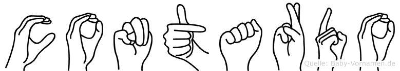Contardo in Fingersprache für Gehörlose
