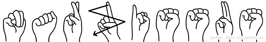 Narzissus in Fingersprache für Gehörlose