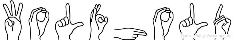 Wolfhold in Fingersprache für Gehörlose