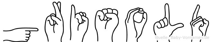 Grisold in Fingersprache für Gehörlose