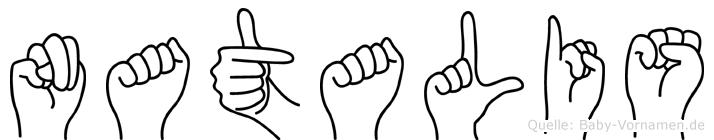 Natalis in Fingersprache für Gehörlose