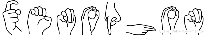 Xenophon in Fingersprache für Gehörlose