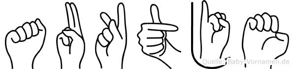 Auktje in Fingersprache für Gehörlose
