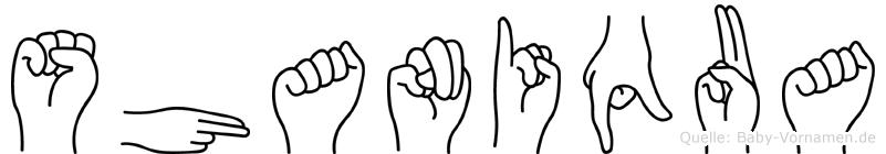 Shaniqua in Fingersprache für Gehörlose