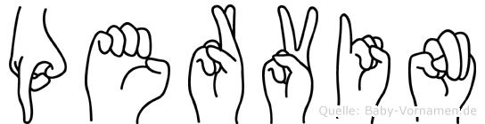 Pervin in Fingersprache für Gehörlose