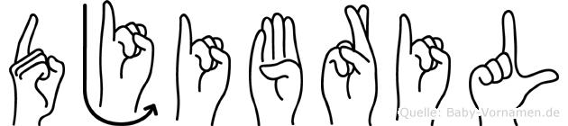 Djibril in Fingersprache für Gehörlose
