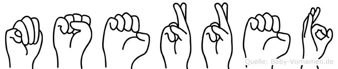 Müserref in Fingersprache für Gehörlose