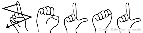 Zelal in Fingersprache für Gehörlose