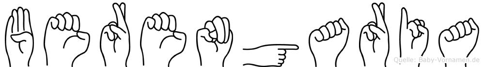 Berengaria in Fingersprache für Gehörlose