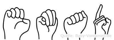 Emad in Fingersprache für Gehörlose