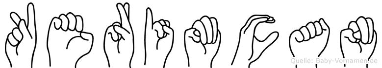Kerimcan in Fingersprache für Gehörlose