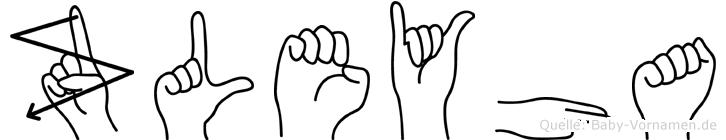Züleyha in Fingersprache für Gehörlose