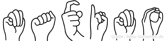 Maximo in Fingersprache für Gehörlose