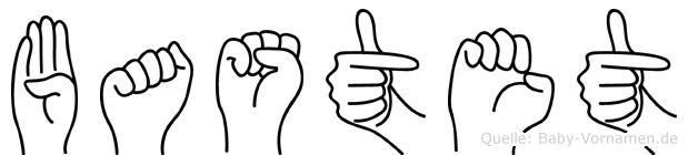Bastet in Fingersprache für Gehörlose