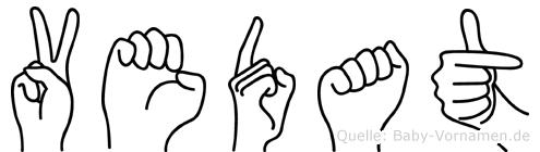 Vedat in Fingersprache für Gehörlose