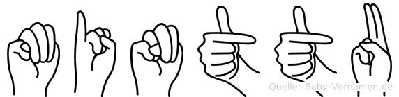 Minttu in Fingersprache für Gehörlose