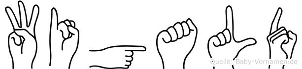 Wigald in Fingersprache für Gehörlose