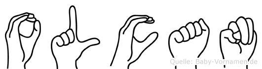 Olcan in Fingersprache für Gehörlose
