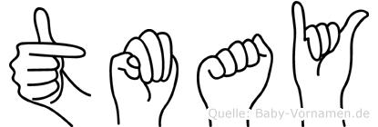 Tümay im Fingeralphabet der Deutschen Gebärdensprache