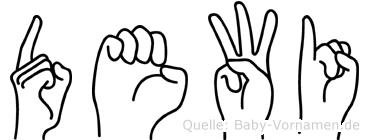 Dewi in Fingersprache für Gehörlose
