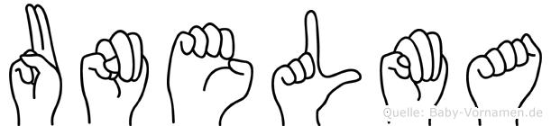 Unelma in Fingersprache für Gehörlose