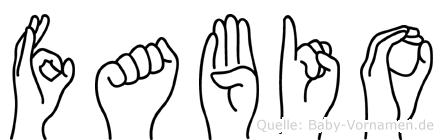 Fabio in Fingersprache für Gehörlose