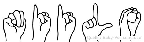 Niilo in Fingersprache für Gehörlose