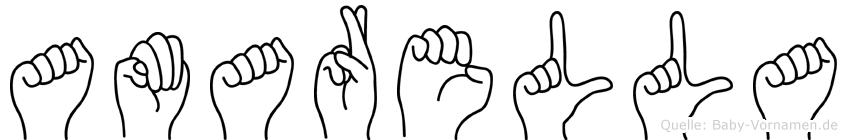 Amarella in Fingersprache für Gehörlose