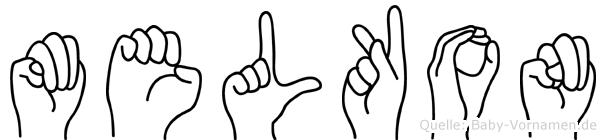Melkon in Fingersprache für Gehörlose