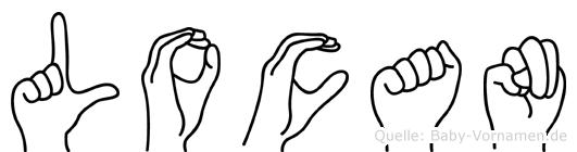 Locan in Fingersprache für Gehörlose