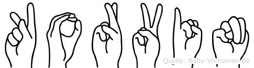 Korvin in Fingersprache f�r Geh�rlose