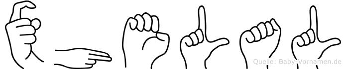 Xhelal in Fingersprache für Gehörlose