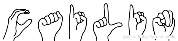 Cailin im Fingeralphabet der Deutschen Gebärdensprache