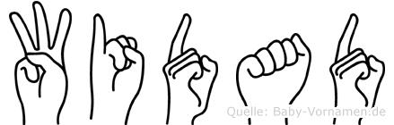Widad in Fingersprache für Gehörlose