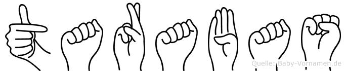 Tarabas in Fingersprache für Gehörlose