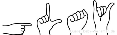 Gülay in Fingersprache für Gehörlose