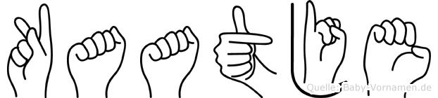 Kaatje in Fingersprache für Gehörlose