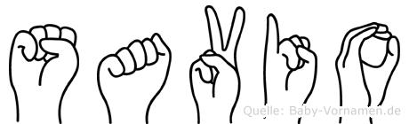 Savio in Fingersprache für Gehörlose