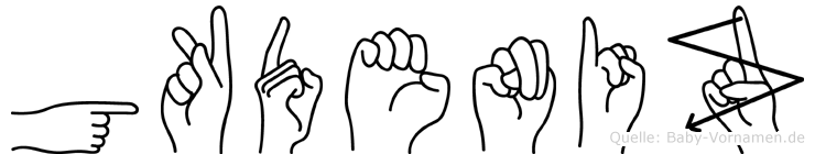 Gökdeniz in Fingersprache für Gehörlose